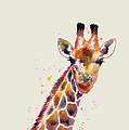 Giraffe by Hailey E Herrera