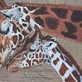 Giraffe Love by Debbie LaFrance