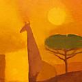 Giraffe by Lutz Baar