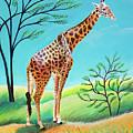 Giraffe by Romy Muirhead