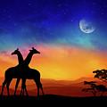 Giraffes Can Dance by Iryna Goodall