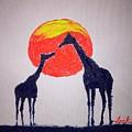 Giraffes by Jack Bunds