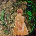Girl And A Beanstalk  by Michaela Kraemer