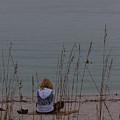Girl At Beach by Ed Gleichman