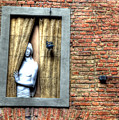 Girl At The Window by Clint Hudson