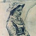 Girl Hell 1882 Ilya Repin by Eloisa Mannion