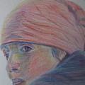 Girl In A Bandana by Katherine Berlin