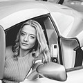 Girl In Car by Lisa Lemmons-Powers