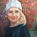 Girl In Late Fall by Catherine Lawhon