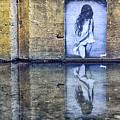 Girl In The Mural by AJ Schibig