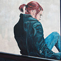 Girl In The Window-sfai by Kevin Callahan