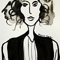 Girl In Vest by Maggie Turner