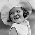 Girl In Wide Brimmed Hat, C.1930s by H. Armstrong Roberts/ClassicStock