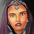 Girl Of Morocco by Portland Art Creations