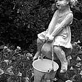Girl On A Mushroom by Sandi OReilly