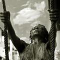 Girl On A Swing by Madeline Ellis