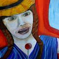 Girl On A Train by Stuart Innes