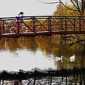 Girl On The Bridge by Turhan Von Brandon