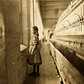 Girl Spinner by Lewis Hine