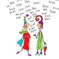 Girl Talk by Karon Melillo DeVega