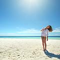 Girl Under The Sunshine by Mikhail Efimov