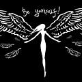 Girl With Angel Wings by Denis Simonov