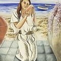 Girl With Conch by Gloria Cigolini-DePietro