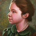 Girl With Locket by Timothy Jones