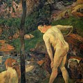 Girls Bathing by Gauguin