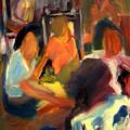 Girls Meeting by Bob Dornberg