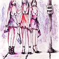 Girls Night Out by Rachel Christine Nowicki