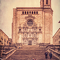 Girona Cathedral by Joan Carroll