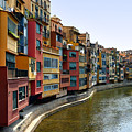 Girona Riverfront by Mathew Lodge