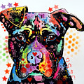 Give Love Pitbull by Dean Russo