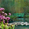 Giverny Bridge by Joe Bonita