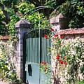 Giverny Gate by Nadine Rippelmeyer