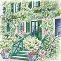 Giverny Welcome by Deborah Ronglien