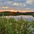 Glacial Park Sunrise On The Nippersink by Ray Mathis