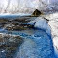 Glacial Stream by Valerie Fuqua