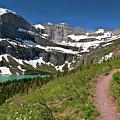 Glacier Backcountry Trail by Gary Lengyel