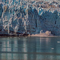 Glacier Bay Ice Calving by Brenda Jacobs