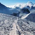 Glacier Blanche  by Elizabetha Fox