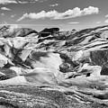 Glacier In Black And White by Stuart Gordon