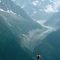 Glacier In Chamonix by Bart Edson