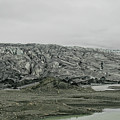 Glacier In Iceland by Patricia Hofmeester