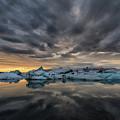 Glacier Lagoon by Bragi Kort