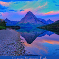 Glacier National Park Poster by Greg Norrell