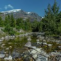 Glacier National Park-st Mary's River by Thomas Gartner