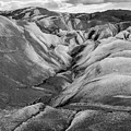 Glacier Walk In Black And White by Stuart Gordon