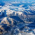 Glaciers In The Coast Range British Columbia Canada by Mary Lee Dereske